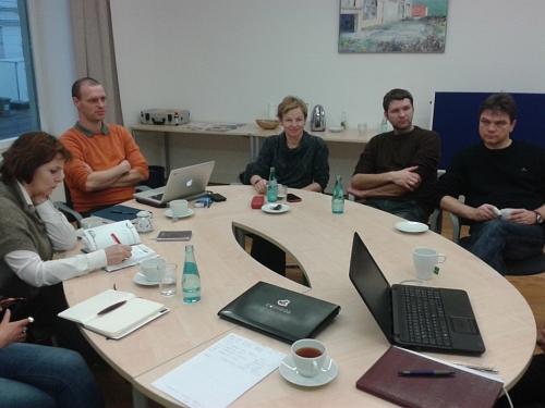 Study visit at Leipzig University