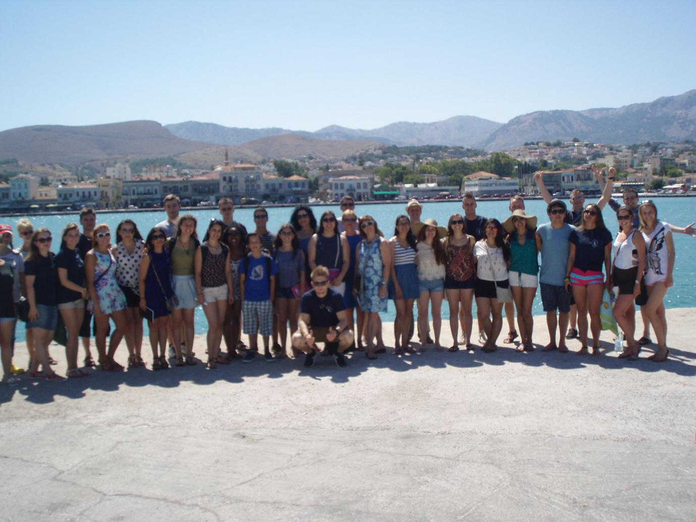 Photo-report from Summer School at Chios (continuation)